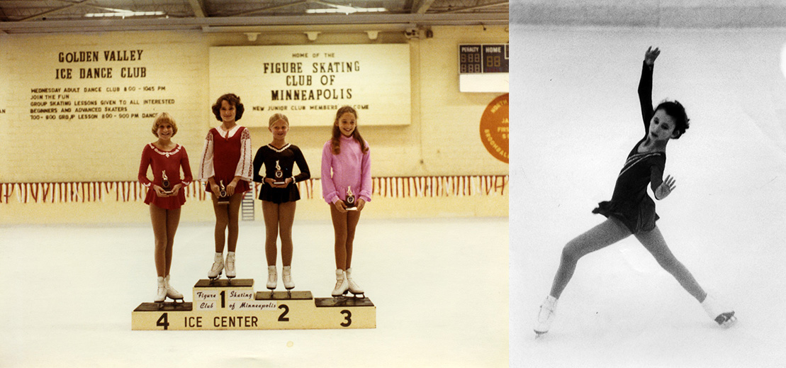 Taking the ice to compete stirred up two feelings: terror and tenacity.